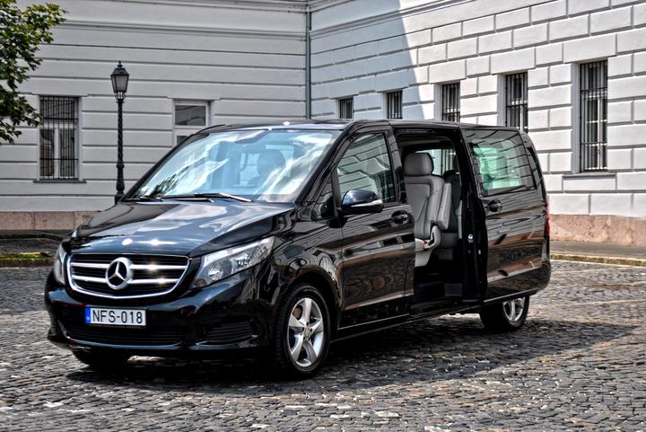 Nossos vehículos - Mercedes V class